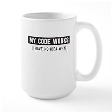 My code works no idea why Mugs