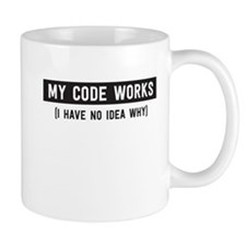 My code works no idea why Mugs
