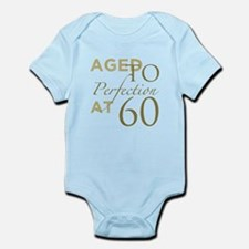 60th Birthday Aged To Perfection Body Suit
