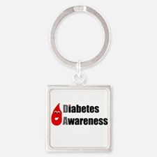Diabetes Awareness Drop Buddy Keychains