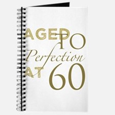 60th Birthday Aged To Perfection Journal