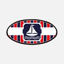Nautical Sailboat Stripes Patches