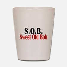 Sweet Old Bob - SOB Shot Glass