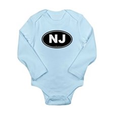 New Jersey NJ Euro Ova Onesie Romper Suit