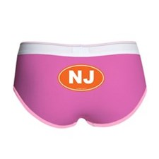New Jersey NJ Euro Oval Women's Boy Brief