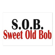 Sweet Old Bob - SOB Postcards (Package of 8)