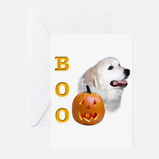 Pyrenees Boo Greeting Cards (Pk of 10)