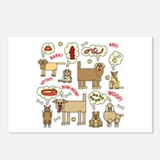 What Dogs Think Postcards (Package of 8)