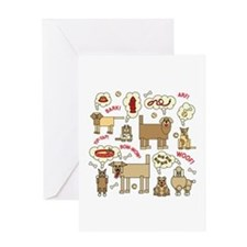 What Dogs Think Greeting Cards