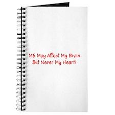 MS Affects My Brain Never My Heart Journal