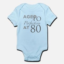80th Birthday Aged To Perfection Body Suit