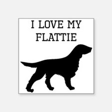 I Love My Flattie Sticker