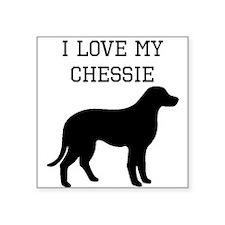 I Love My Chesapeake Bay Retriever Sticker
