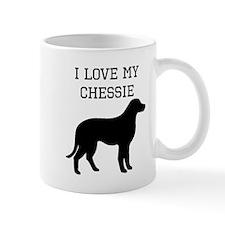 I Love My Chesapeake Bay Retriever Mugs