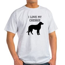 I Love My Chesapeake Bay Retriever T-Shirt