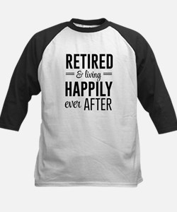 Retired happily ever after Baseball Jersey
