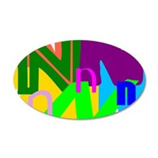 Initial Design (N) Wall Decal