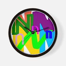 Initial Design (N) Wall Clock