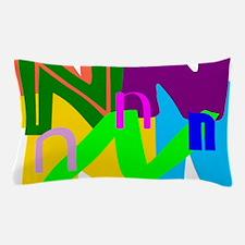 Initial Design (N) Pillow Case