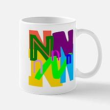 Initial Design (N) Mugs
