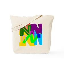 Initial Design (N) Tote Bag