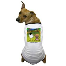 Cow Cartoon 9217 Dog T-Shirt