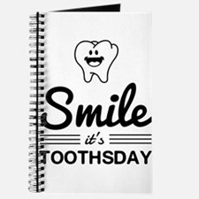 Smile it's toothsday Journal