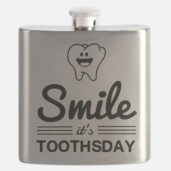 Smile it's toothsday Flask