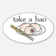 Take a Bao Oval Decal