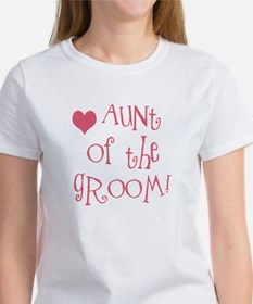 Aunt of the Groom Tee