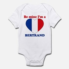 Bertrand, Valentine's Day Infant Bodysuit