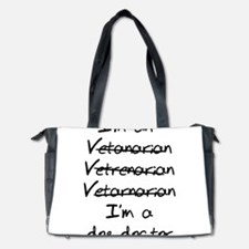 veterinarian dog doctor Diaper Bag