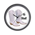 Yo Stud Wall Clock