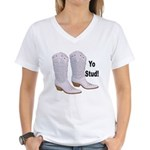 Yo Stud Women's V-Neck T-Shirt