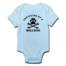 Protected By A Bulldog Body Suit