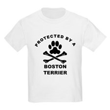 Protected By A Boston Terrier T-Shirt