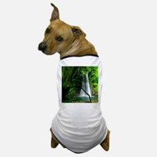 Waterfall in Azores Dog T-Shirt