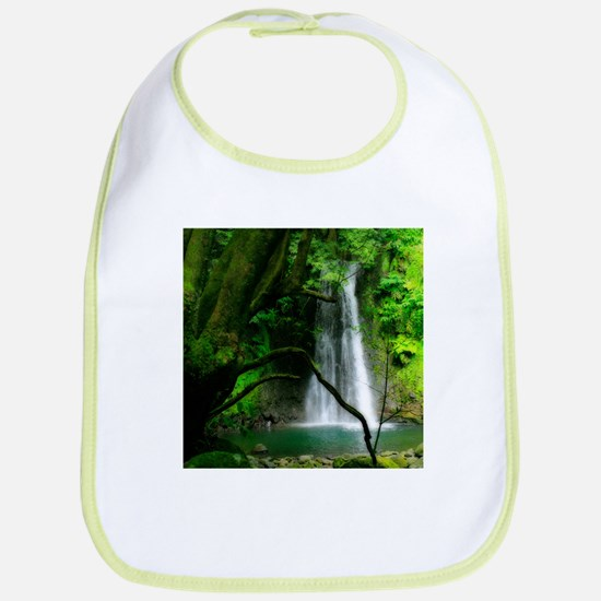 Waterfall in Azores Bib