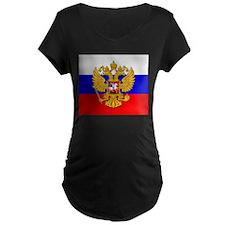 3-flag_gerb Maternity T-Shirt