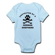Protected By A German Shepherd Body Suit