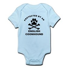 Protected By An English Coonhound Body Suit