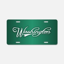 Washington State of Mine Aluminum License Plate