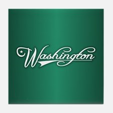 Washington State of Mine Tile Coaster
