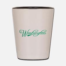 Washington State of Mine Shot Glass