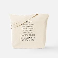 Basketball mom checklist Tote Bag