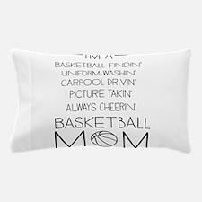 Basketball mom checklist Pillow Case