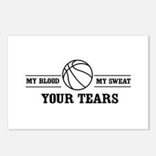 Basketball your tears Postcards (Package of 8)