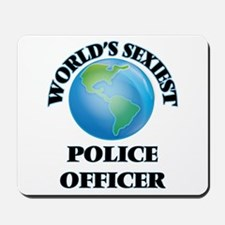 World's Sexiest Police Officer Mousepad