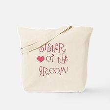 Sister of the Groom Tote Bag