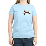 Running poodle Women's Light T-Shirt